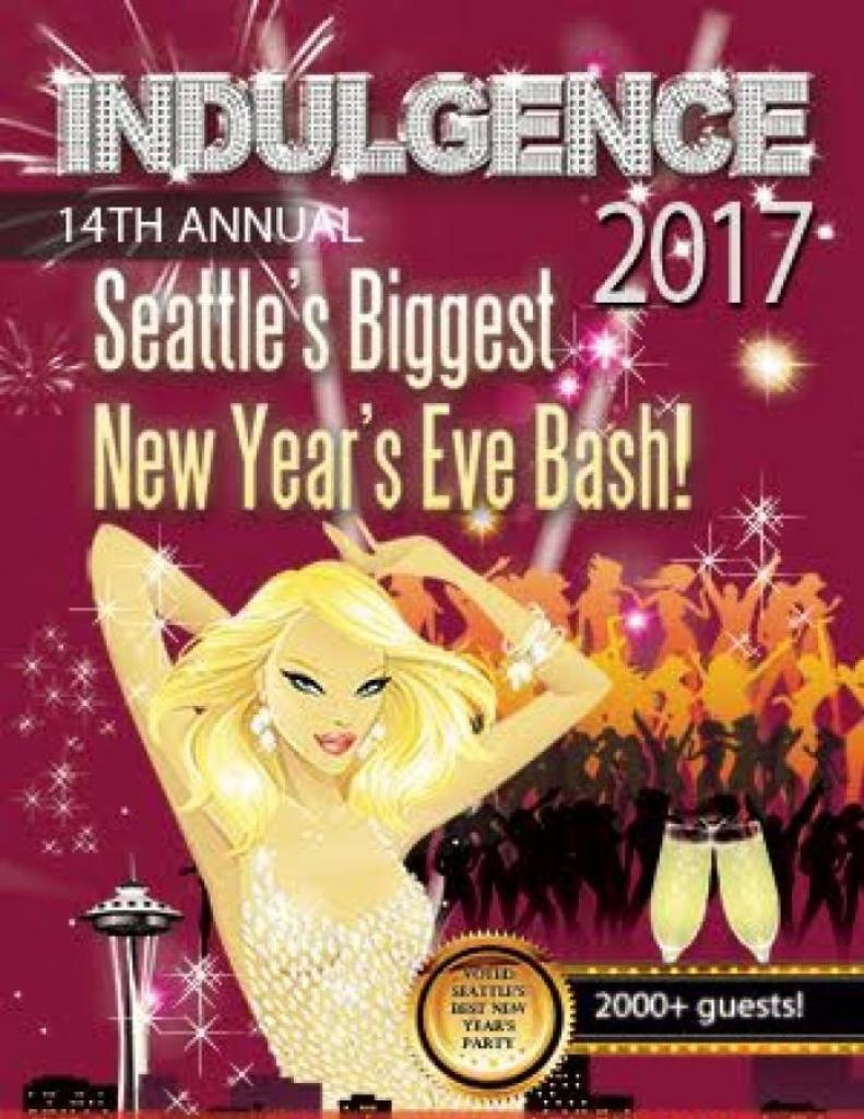 INDULGENCE - Seattle's Biggest New Years Eve Bash!